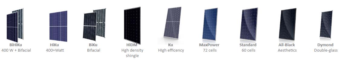 Tấm pin năng lượng mặt trời Canadian Solar - Đại lý phân