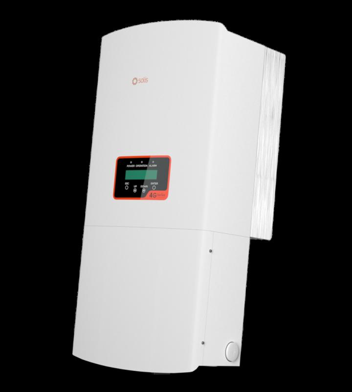 Inverter Solis (6-10)KW - 4G 1 pha